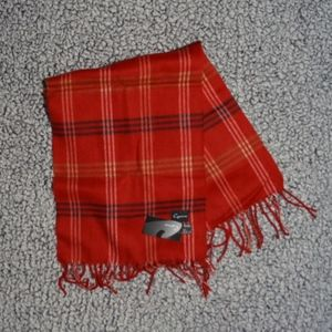 Cejon Red Plaid Scarf